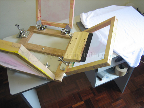 Screen Printing Press Diy Diy Projects